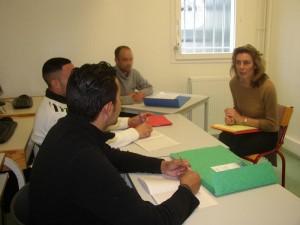 Atelier au centre pénitentiaire de Mont-de-Marsan, pour un accompagnement à la réinsertion professionnelle